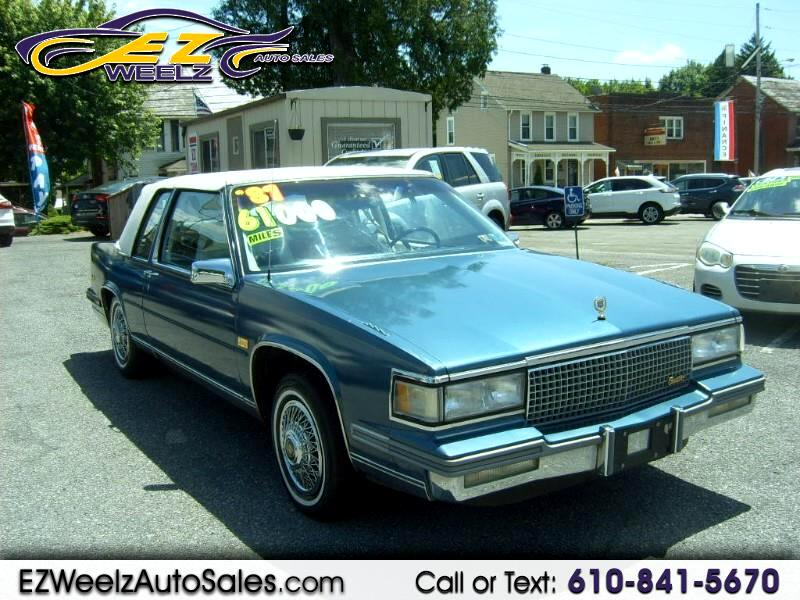 1987 Cadillac DeVille Coupe