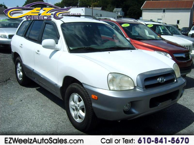 2006 Hyundai Santa Fe GLS 2.7L 2WD
