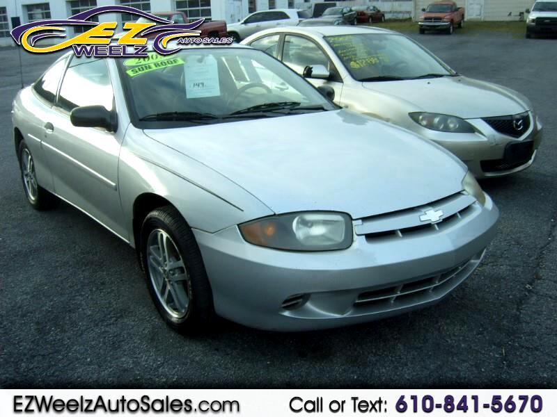 2005 Chevrolet Cavalier Coupe w/1SV