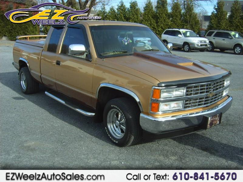 Chevrolet C/K 1500 Ext. Cab 6.5-ft. Bed 2WD 1990