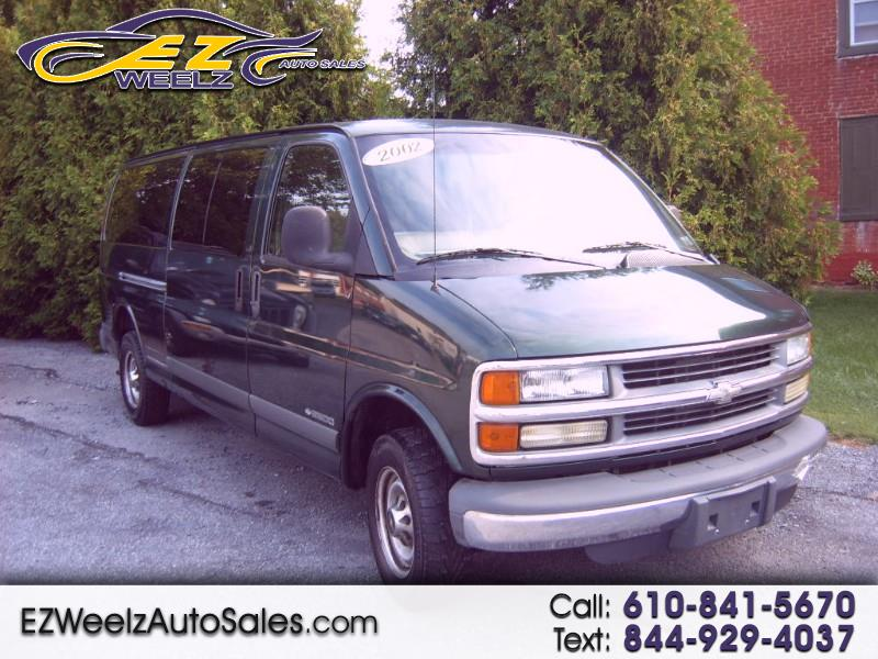 Chevrolet Express 2500 Extended 2002