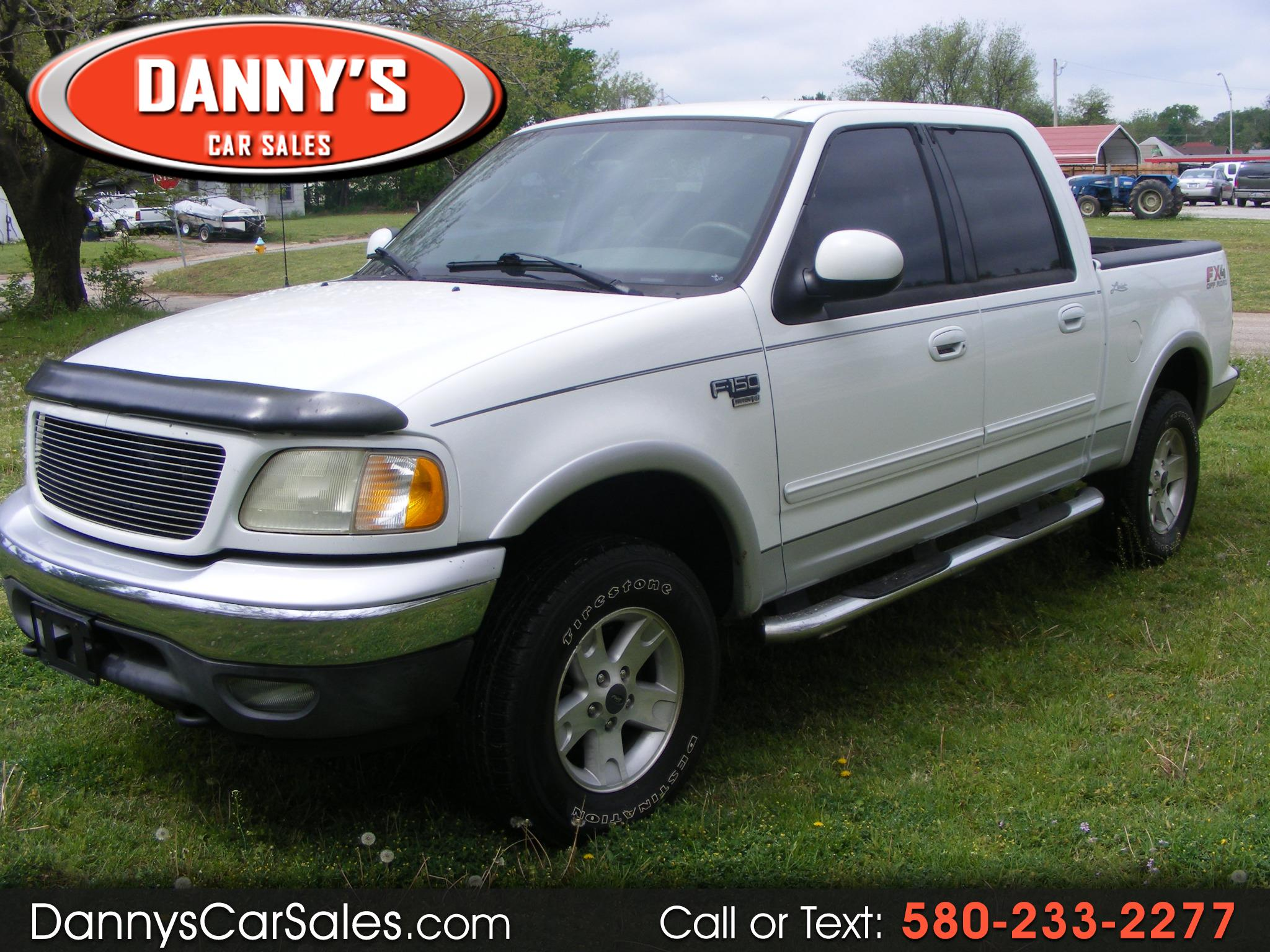 "2003 Ford F-150 SuperCrew 139"" Lariat 4WD"