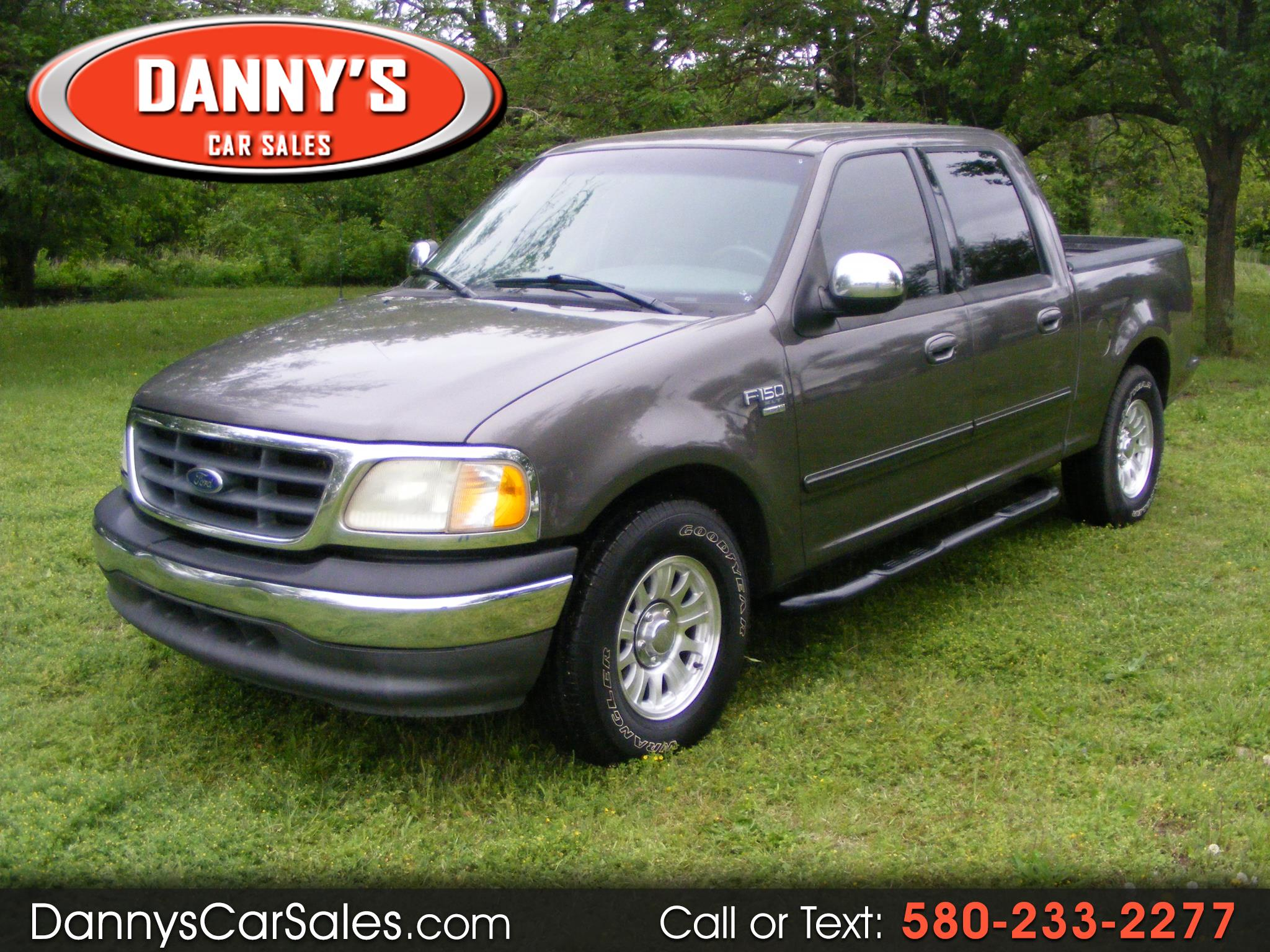 "2002 Ford F-150 SuperCrew 139"" XLT"