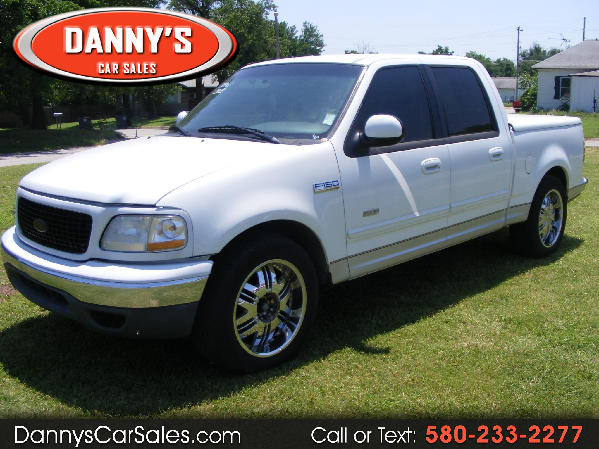 "2001 Ford F-150 SuperCrew Crew Cab 139"" XLT"