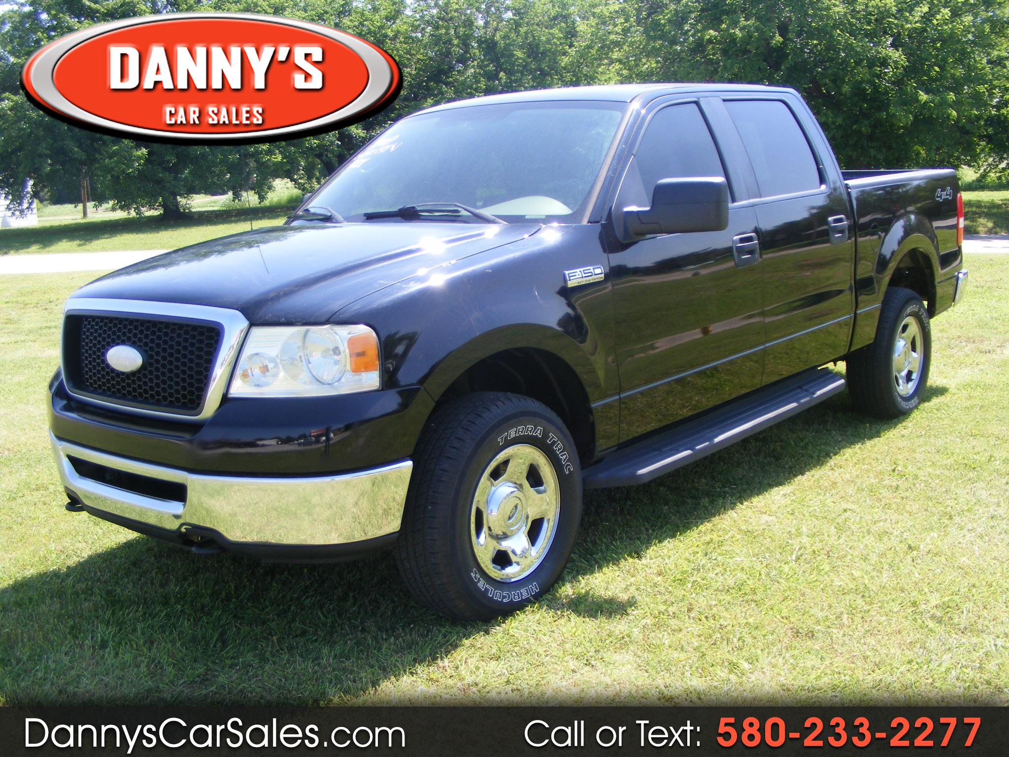 "Ford F-150 4WD SuperCrew 139"" XLT 2008"