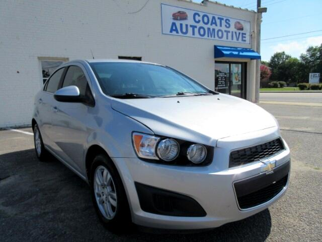 2014 Chevrolet Sonic LT Manual Sedan