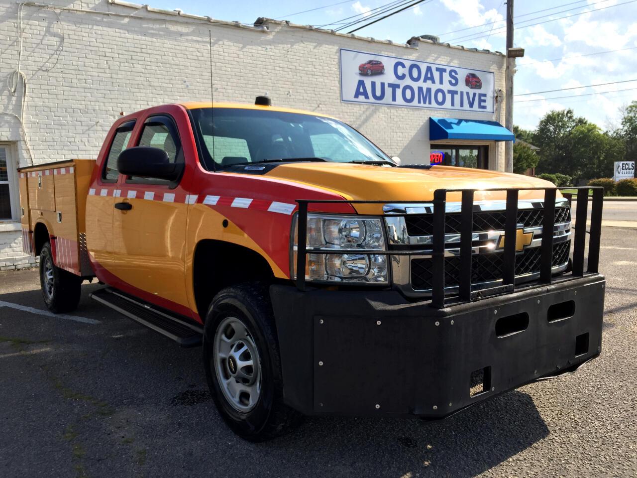 2012 Chevrolet Silverado 2500HD Work Truck Ext. Cab 4WD
