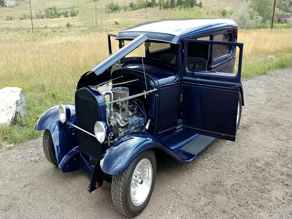 1931 Ford Model A Tudor Sedan Street Rod