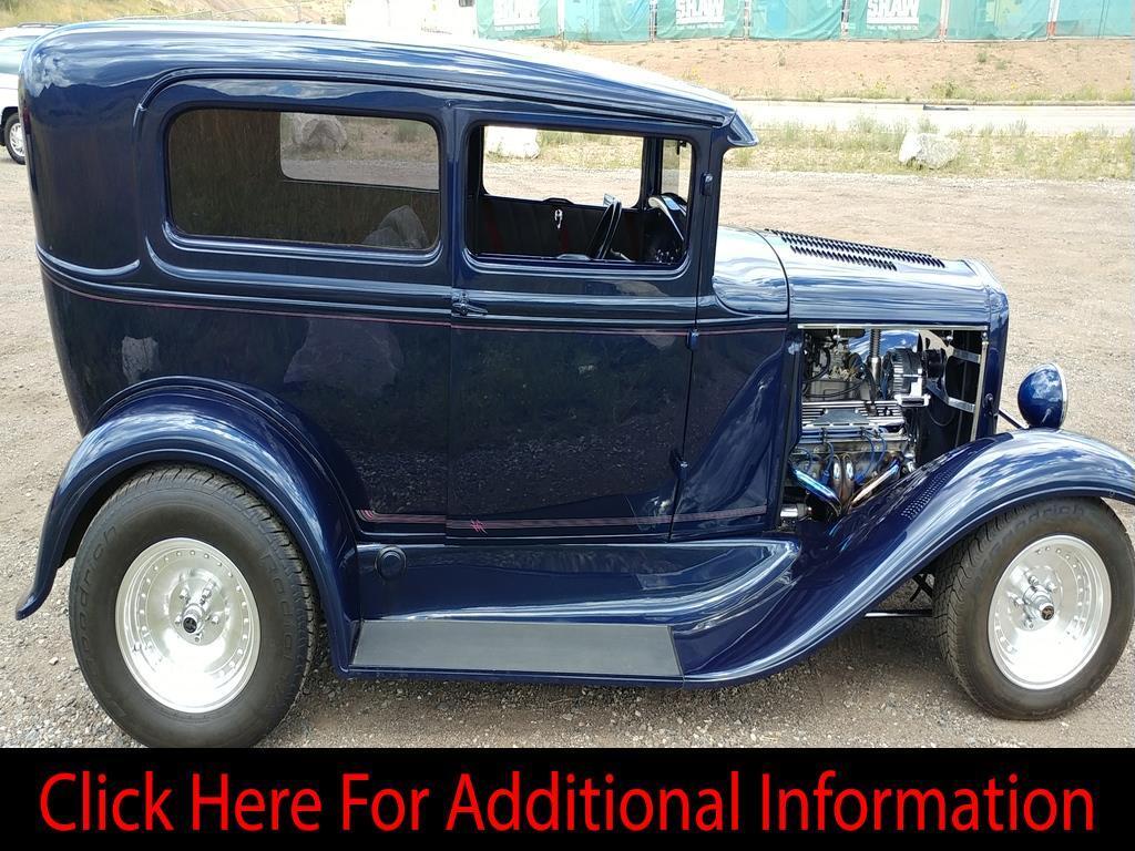 1931 Ford Model A Tudor Sedan Street Rod