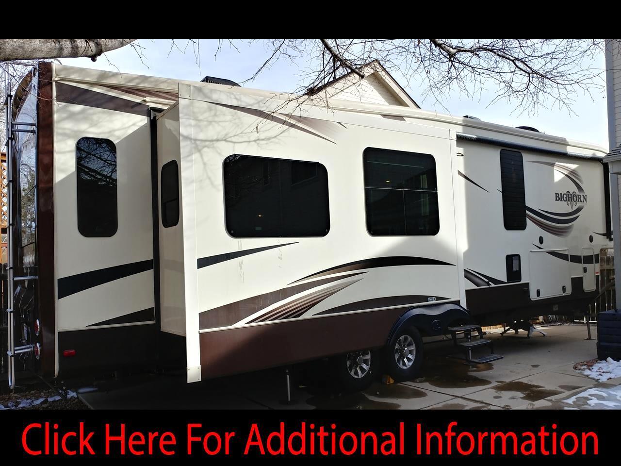 2015 Heartland Bighorn 3875FB 5th Wheel