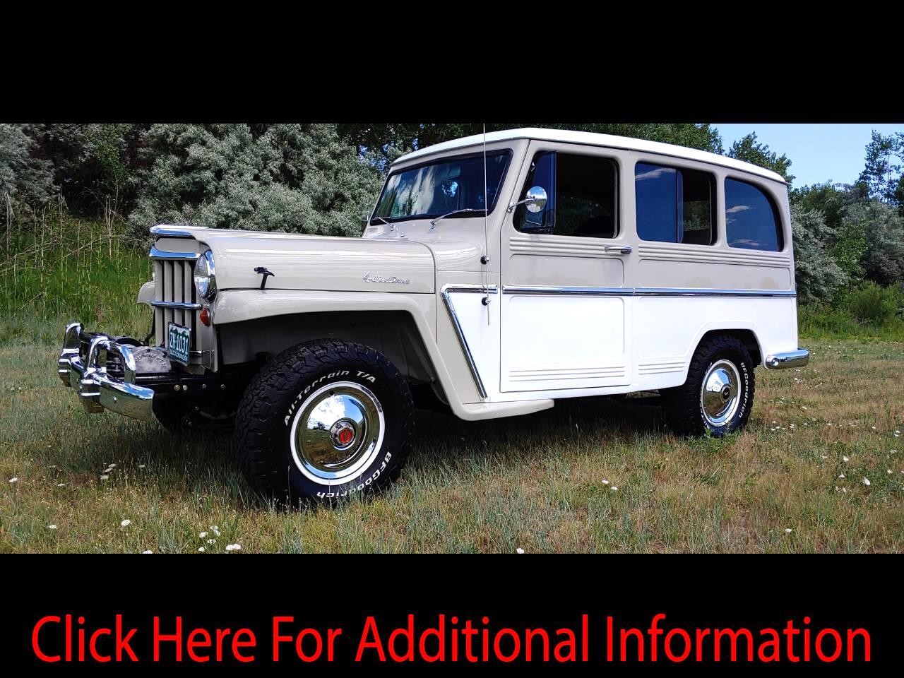 1964 Willys Jeep Wagon