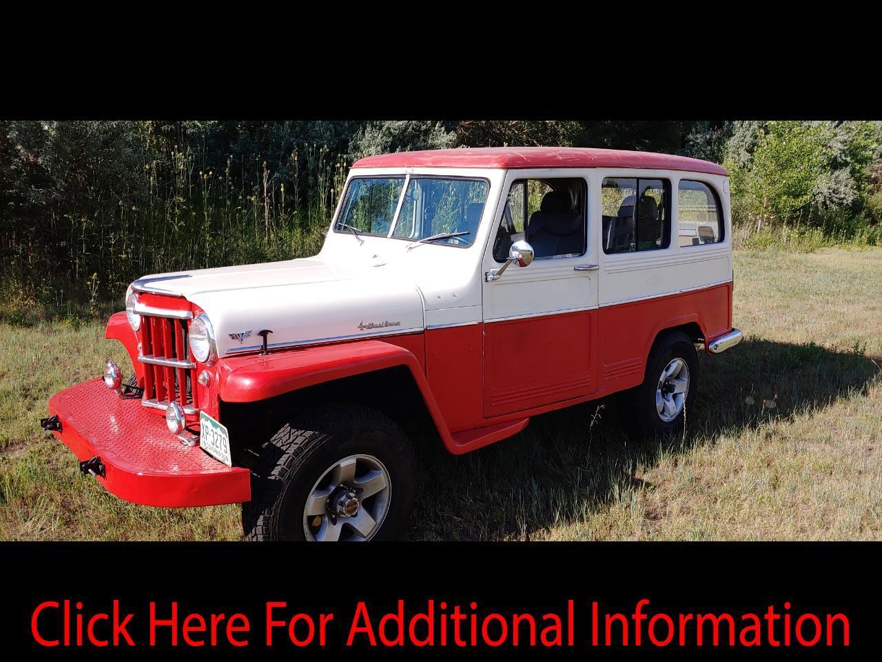 1960 Willys Jeep Wagon