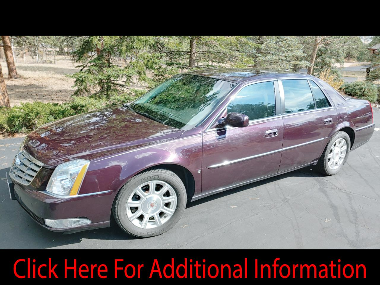 Cadillac DTS 4dr Sdn Luxury I 2008