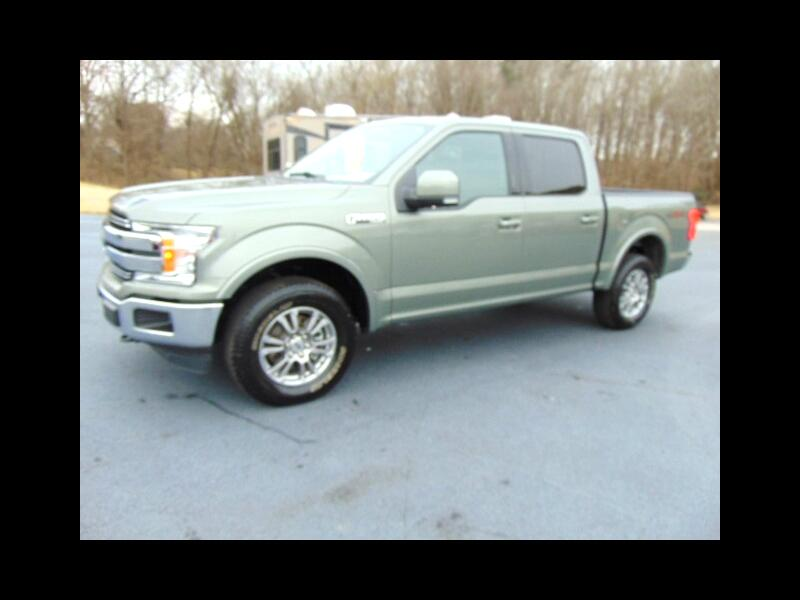 Ford F-150 Lariat SuperCrew 5.5-ft. Bed 4WD 2020