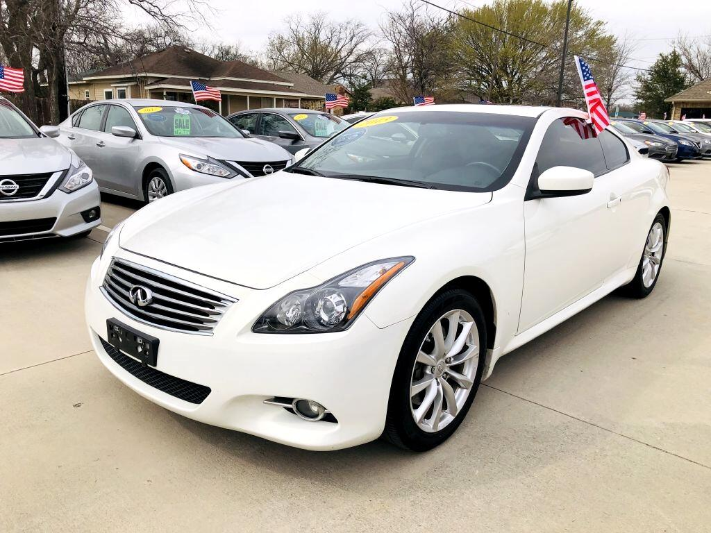 2013 Infiniti G Coupe Journey