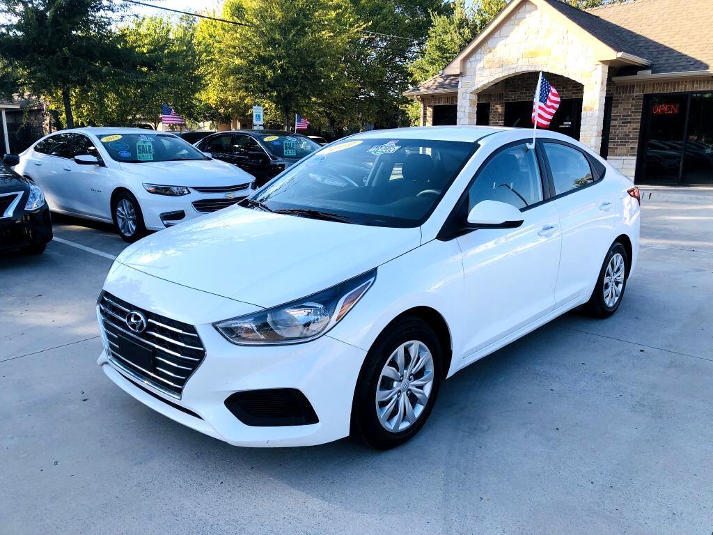 2019 Hyundai Accent SE 4-Door 6A