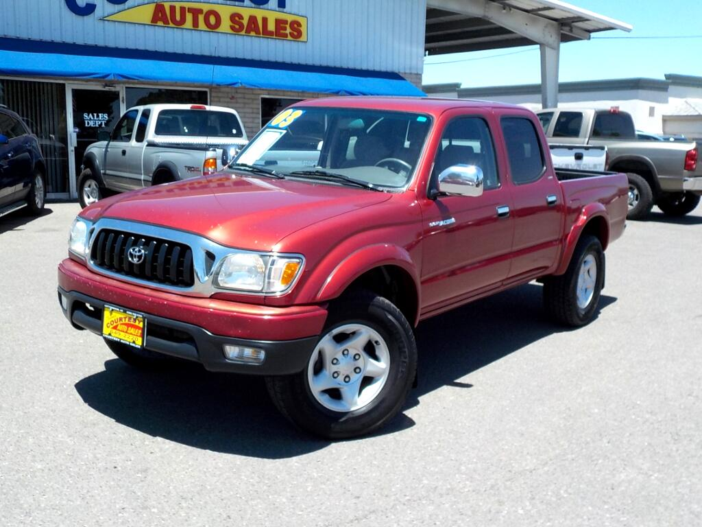 2003 Toyota Tacoma 4WD Double Cab V6 AT SR5 (Natl)