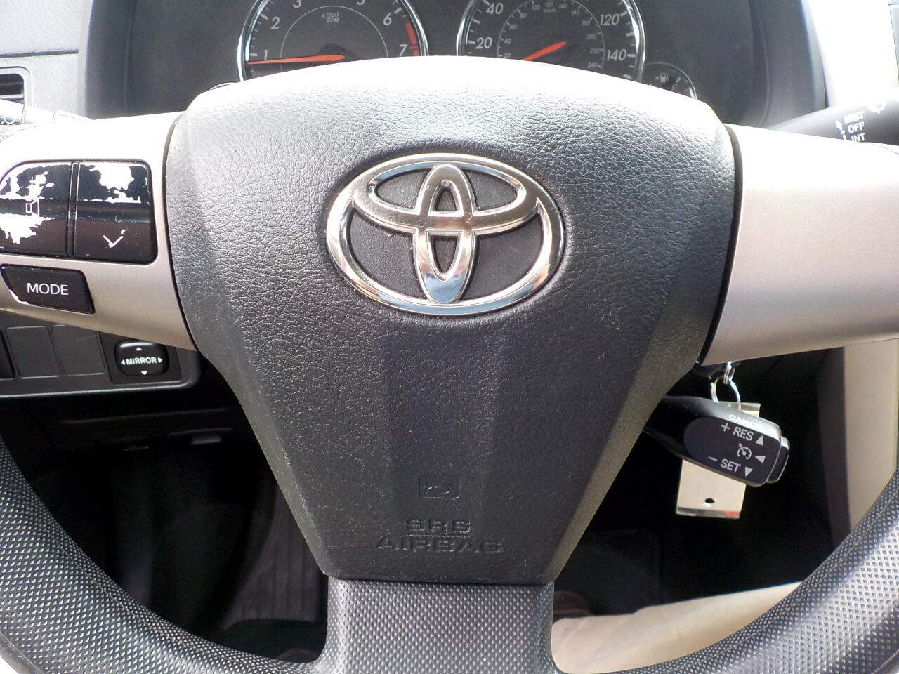 2012 Toyota Corolla 4dr Sdn Auto S (Natl)