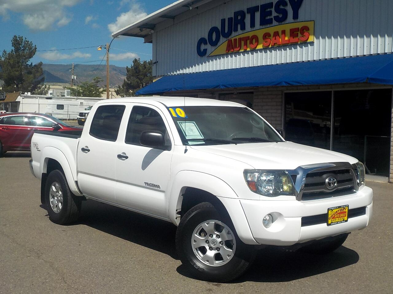 2010 Toyota Tacoma 4WD Double 128 V6 AT (Natl)