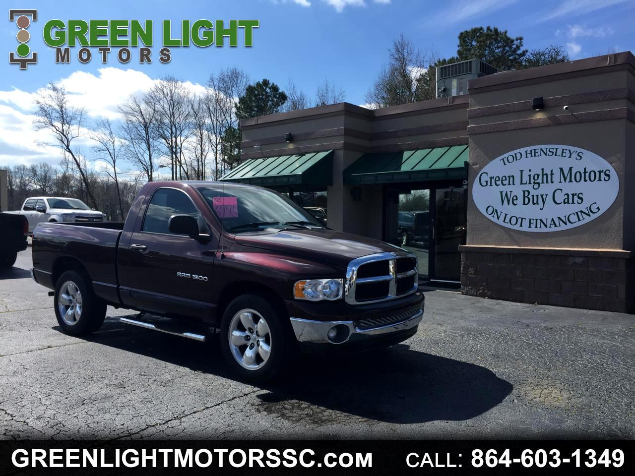 2005 Dodge Ram 1500 SLT Regular Cab Short Bed 2WD