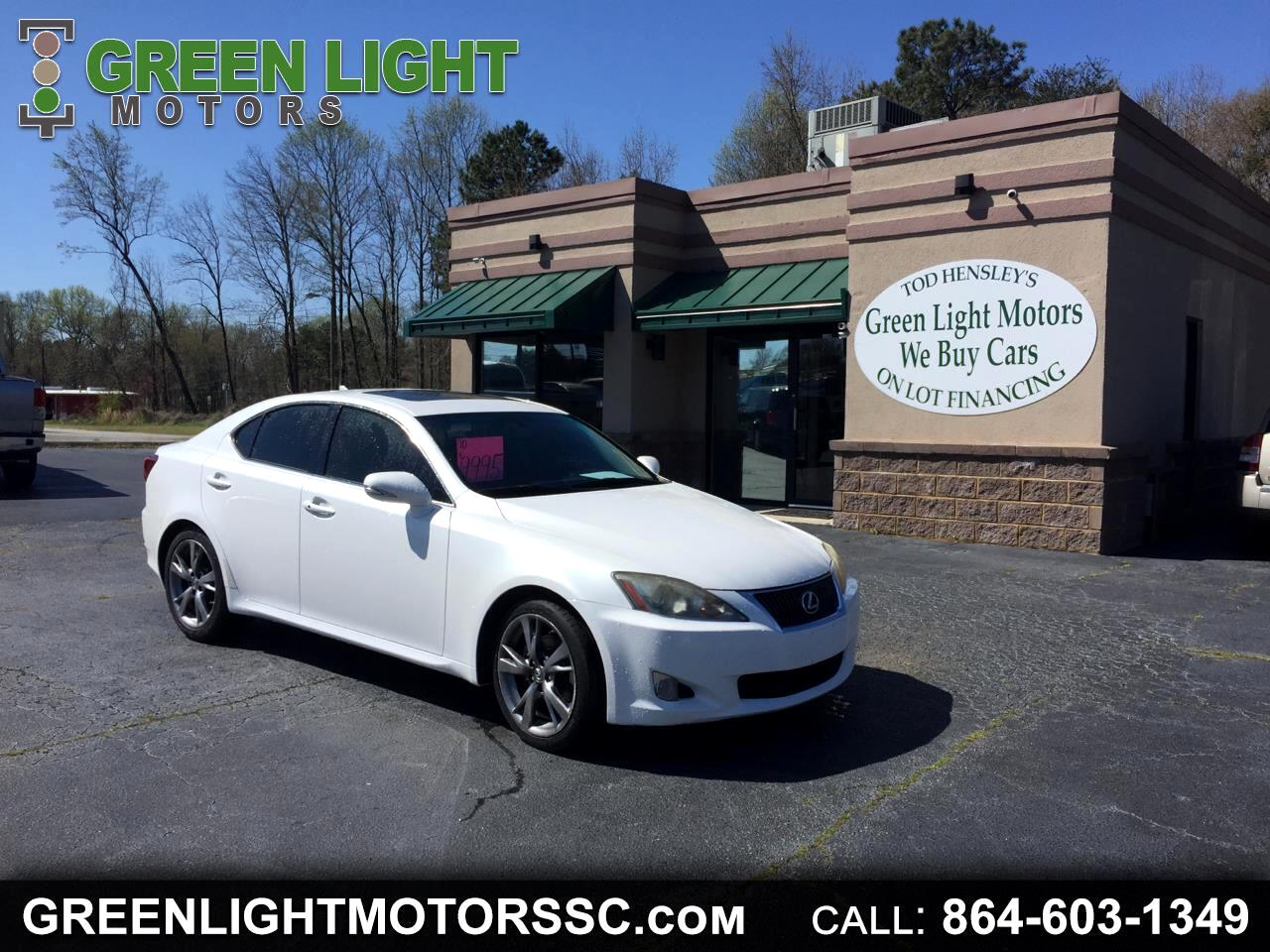 2010 Lexus IS IS 250 AUTOMATIC