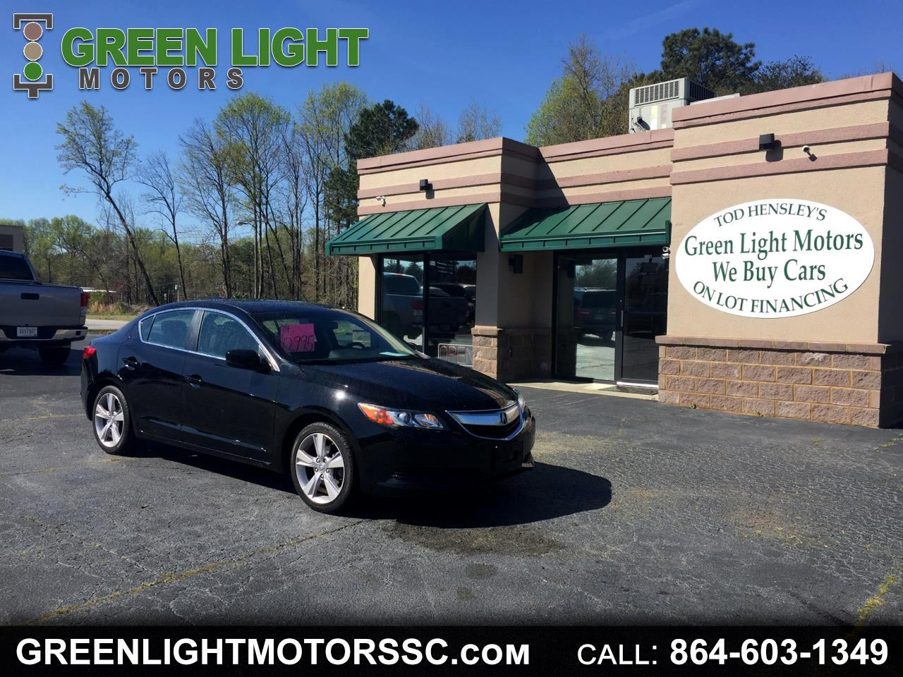 2014 Acura ILX 5 speed automatic