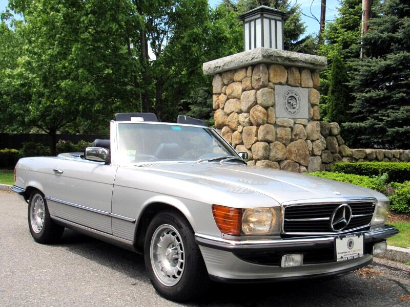 1984 Mercedes-Benz 380SL Roadster