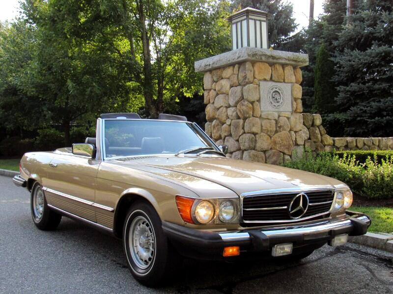 1980 Mercedes-Benz 450 SL Convertible