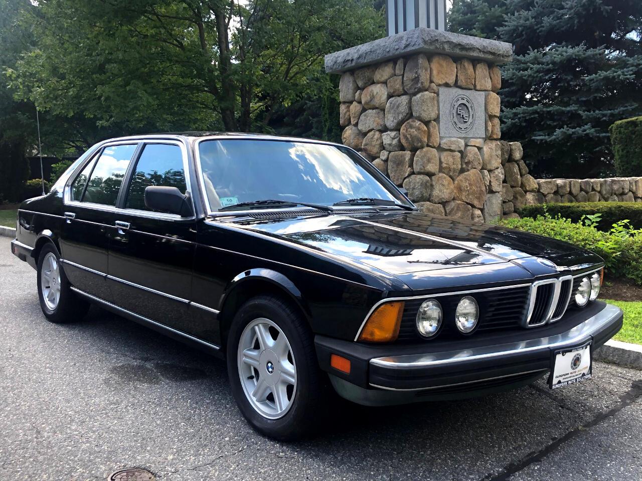 BMW 7-Series 735i automatic 1987