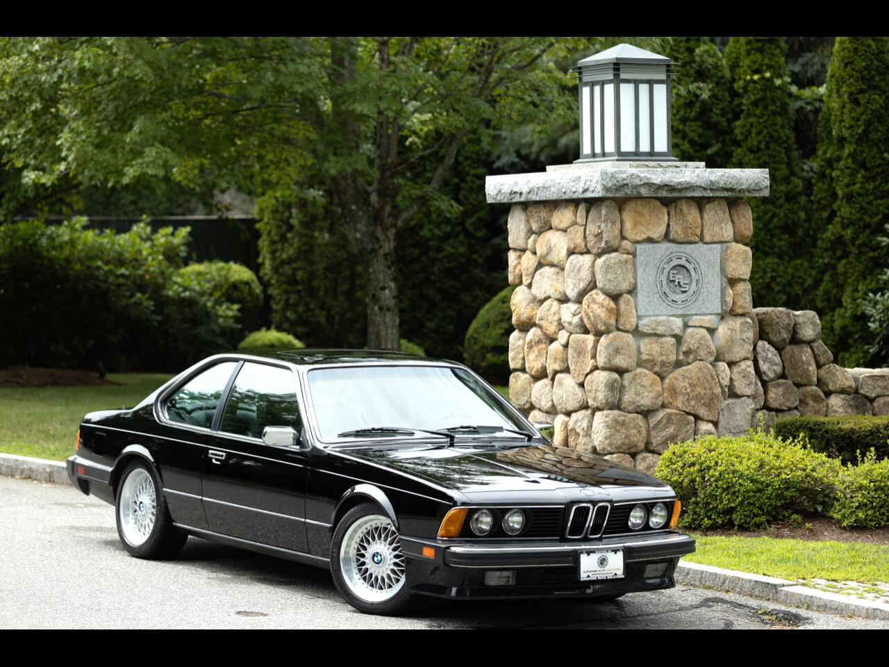 BMW 6-Series 635CSI automatic 1987
