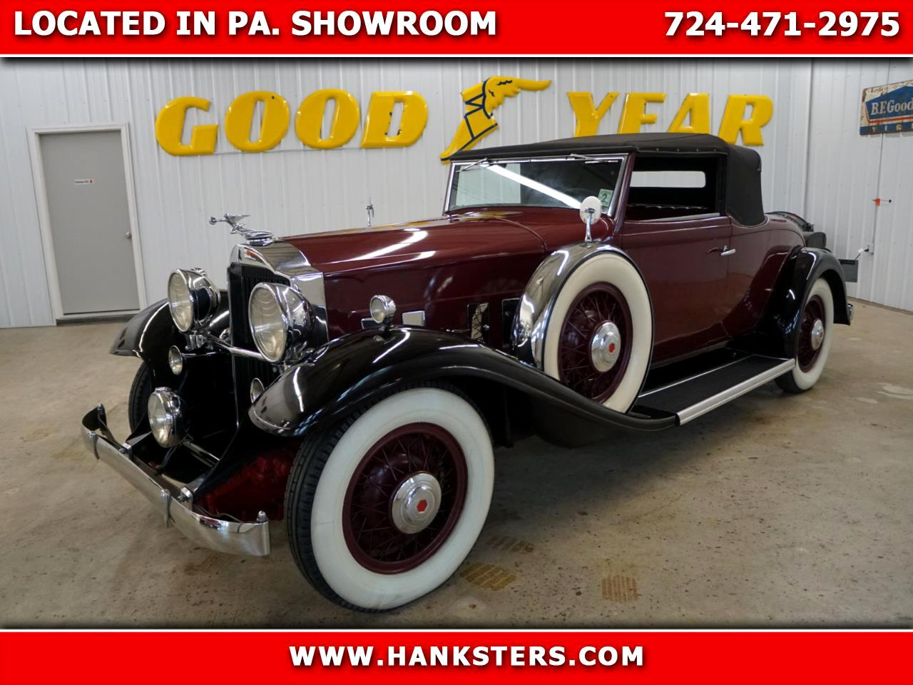 1932 Packard Standard Eight Coupe Roadster