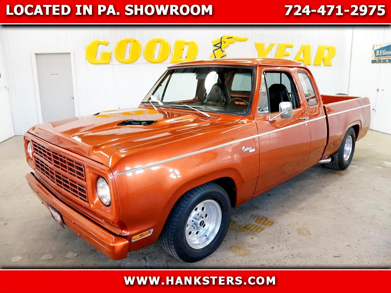 1979 Dodge D150 Club Cab 6.5-ft. Bed 2WD