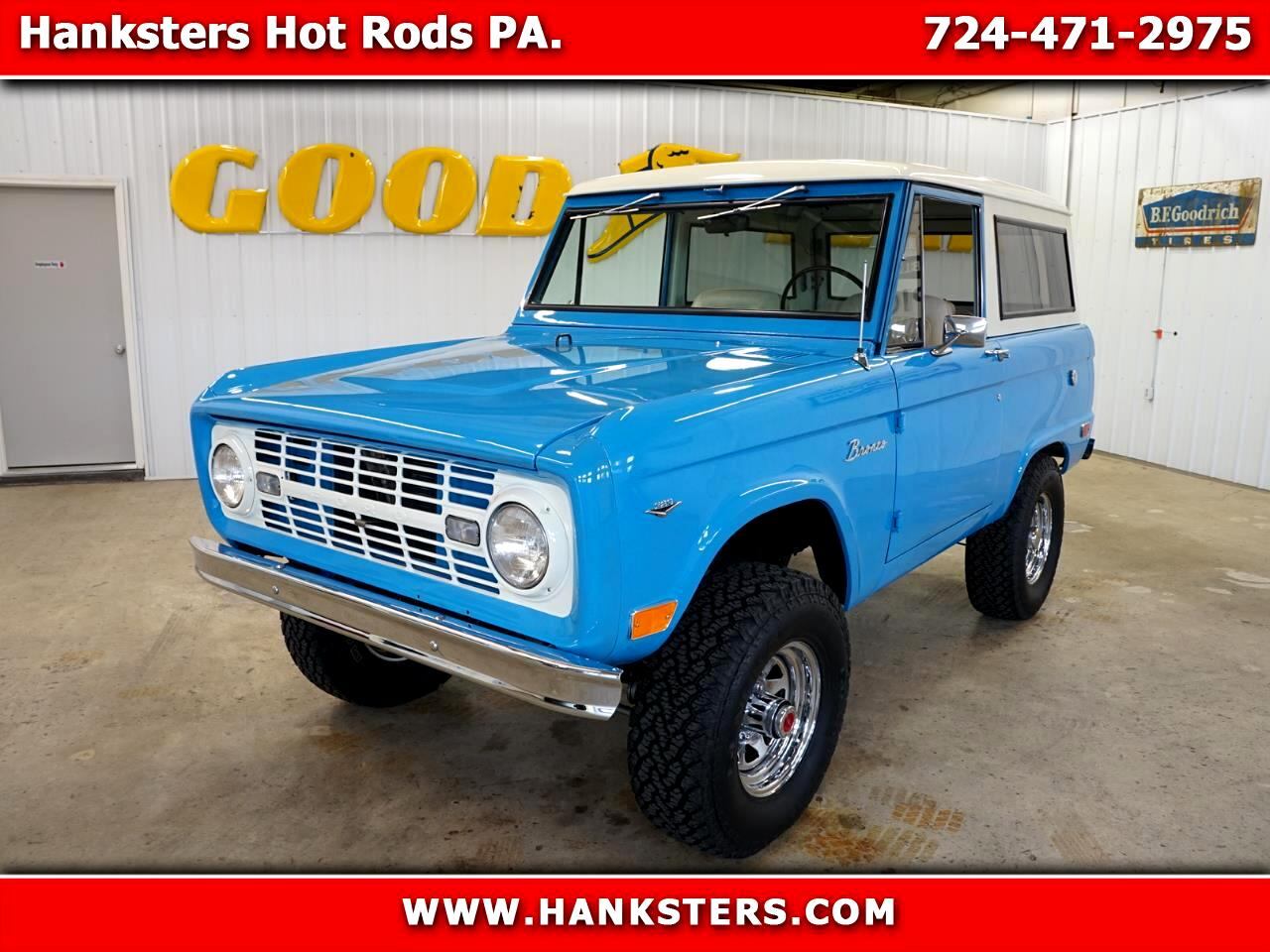 1968 Ford Bronco 4WD Wagon