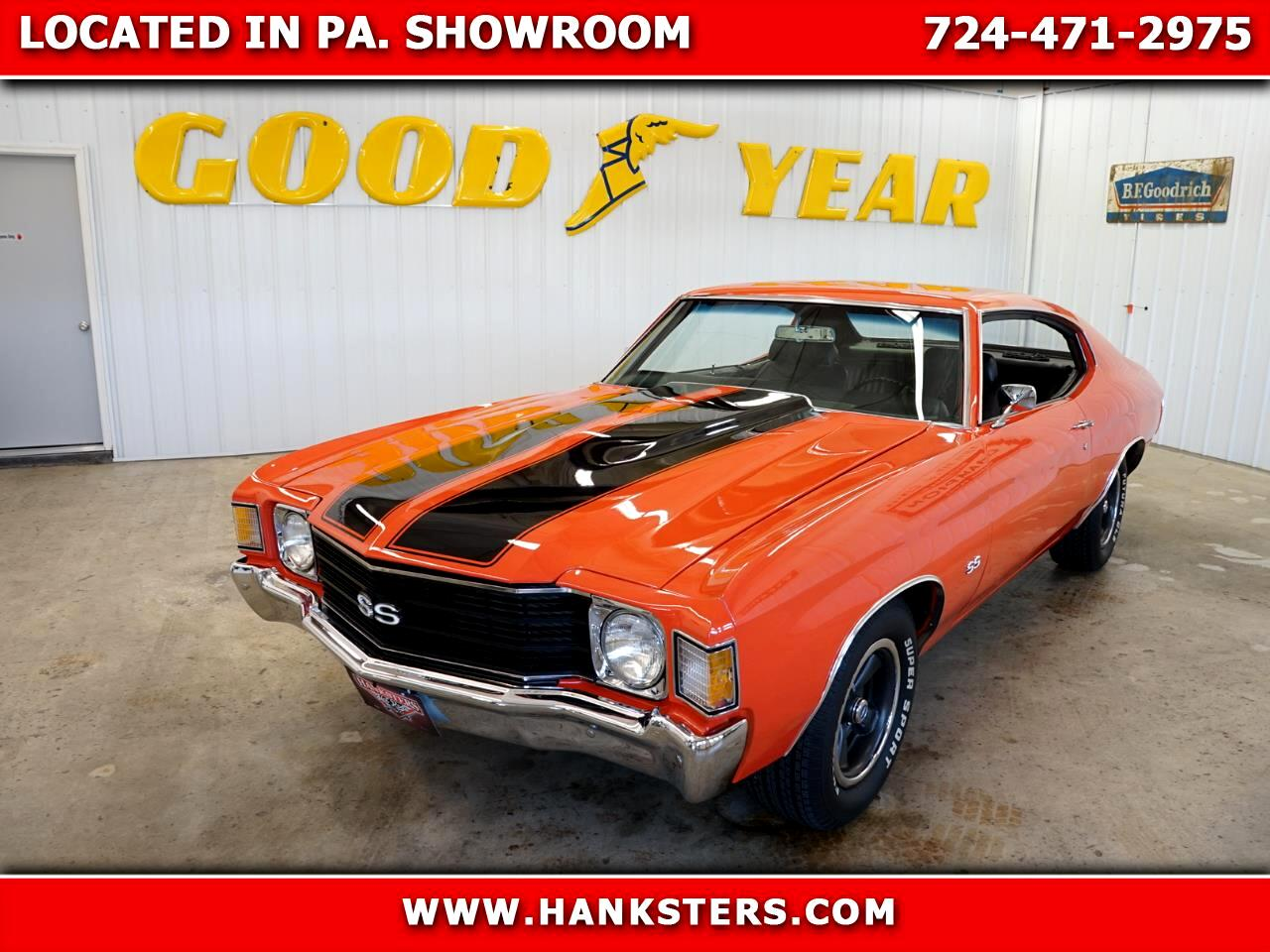 1972 Chevrolet Chevelle SS Style