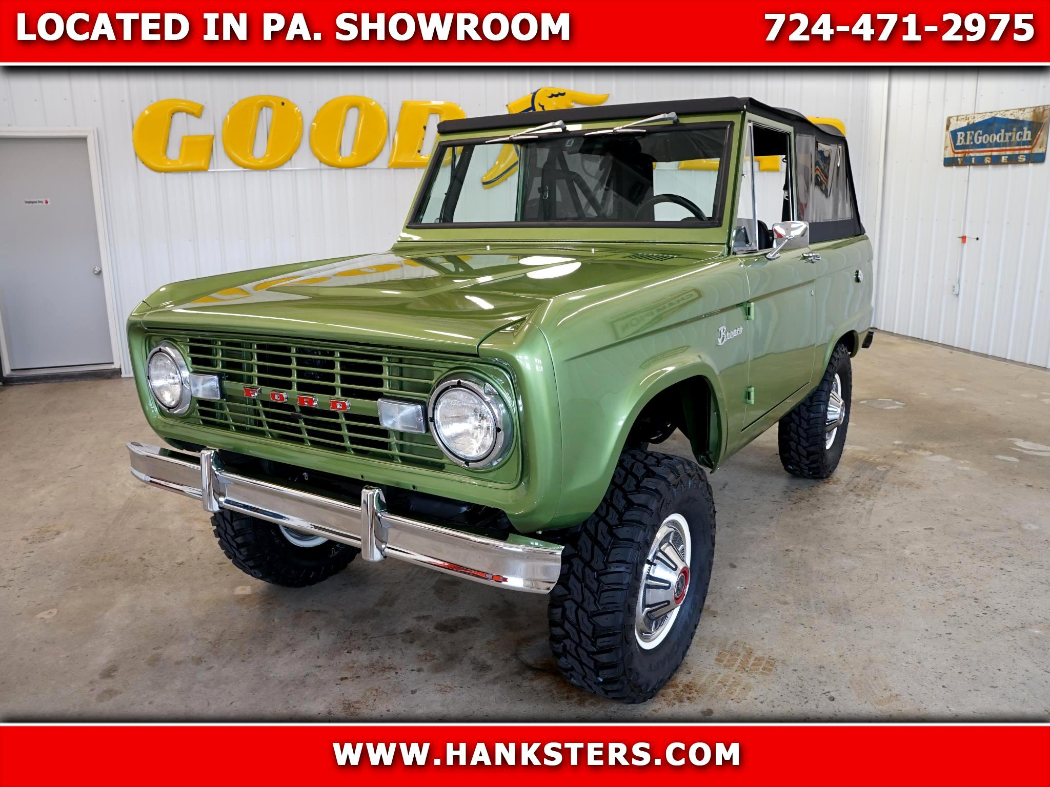 1971 Ford Bronco 4WD U100 Wagon