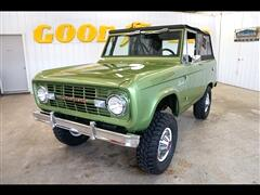 1971 Ford Bronco 4WD