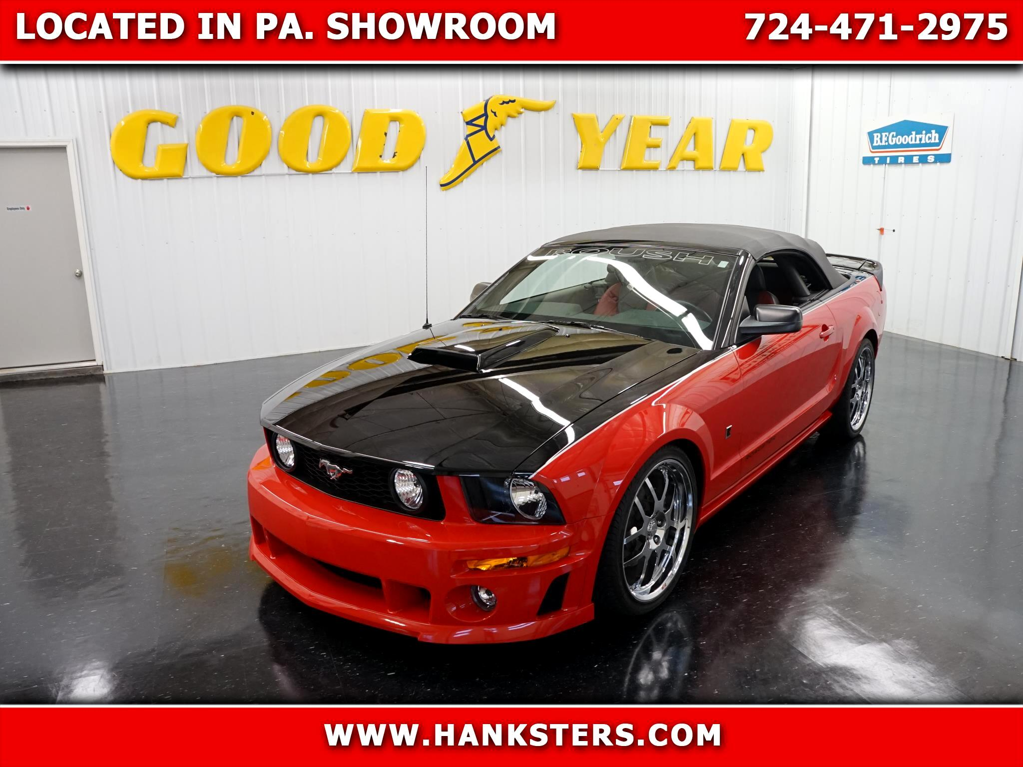 2007 Ford Mustang Roush Roadster Stage III Convertible