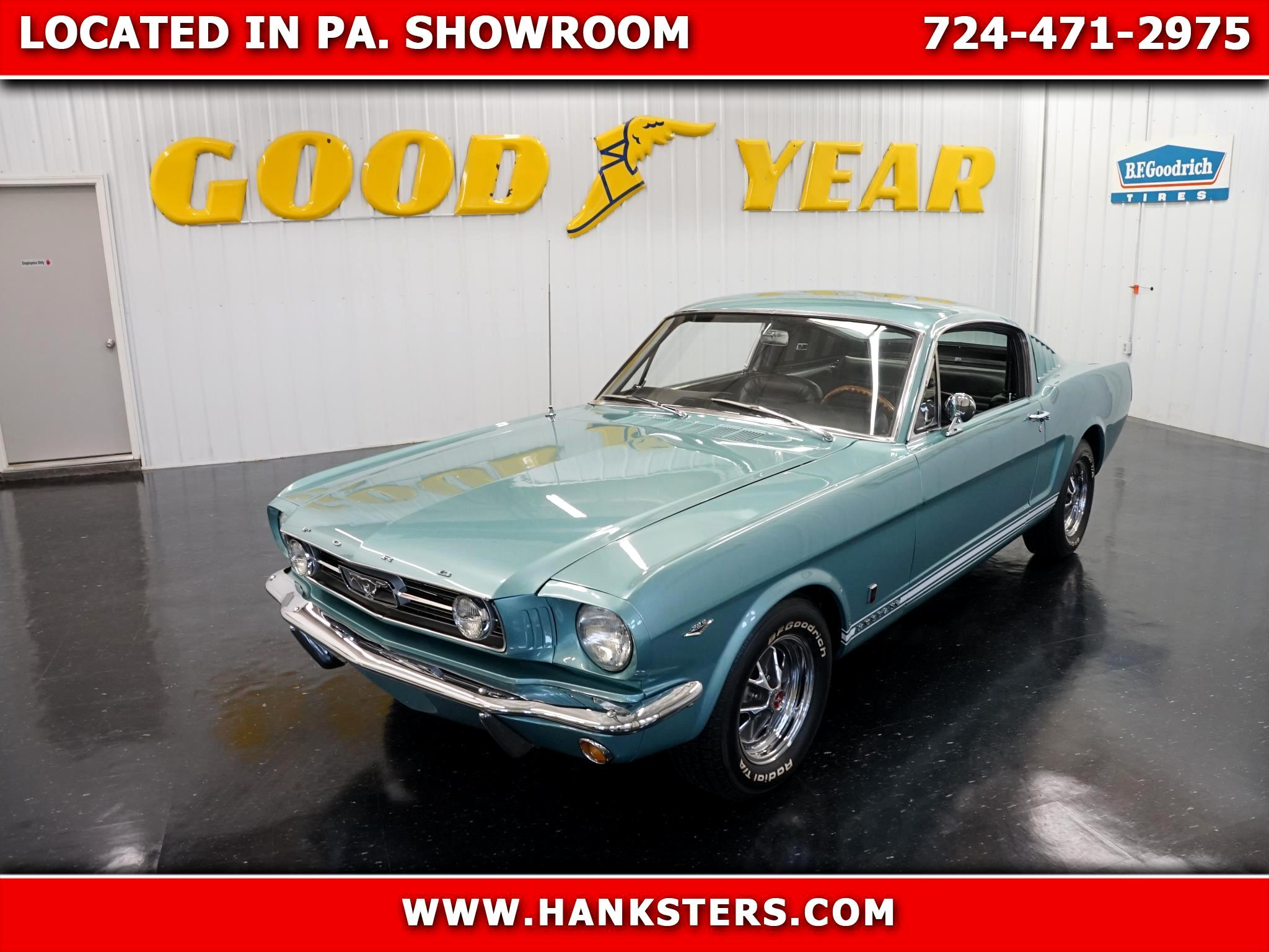 1966 Ford Mustang GT Style Fastback