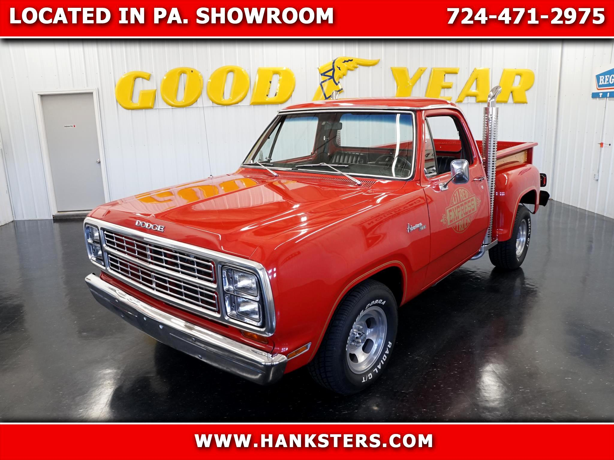 Dodge Lil Red Truck Express  1979