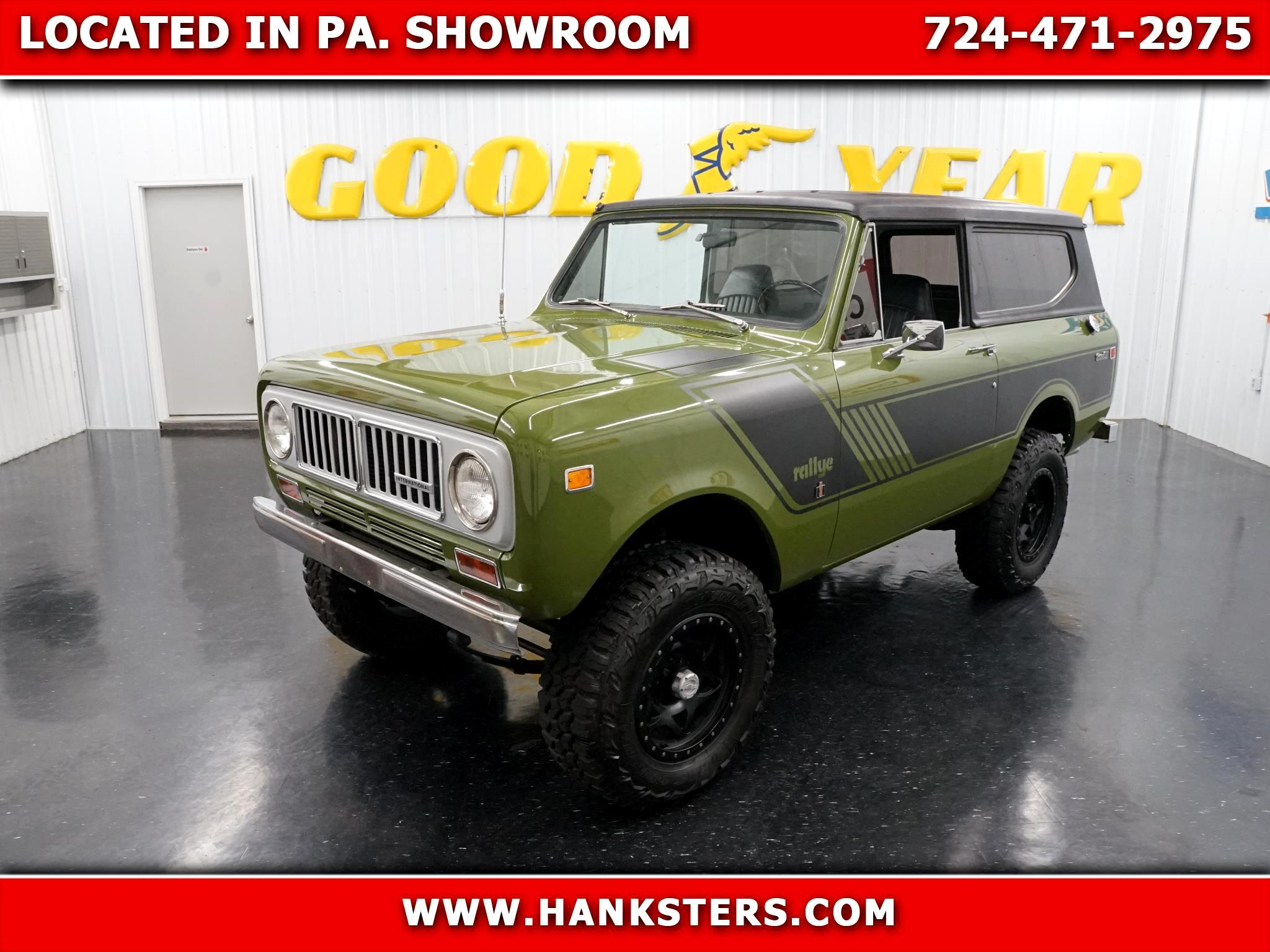 International Scout II  1972