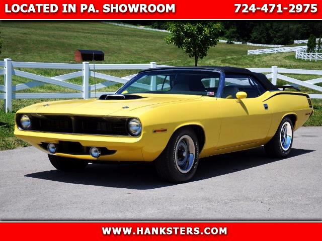 1970 Plymouth Cuda Gran Coupe Convertible
