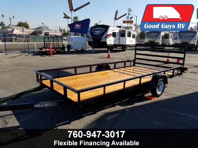 2018 Zieman Wood Bed Trailer F-714