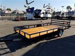 2018 Zieman Wood Bed Trailer
