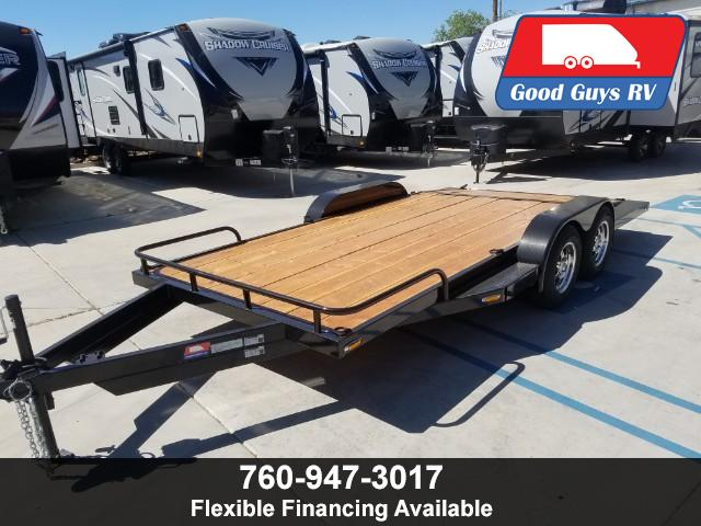 2019 Patriot Trailers Car Hauler 8.5X16RDWB