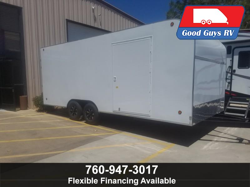 2019 Apache Enclosed Box 8 5 X 20 X 7 RAMP GATE ENCLOSED