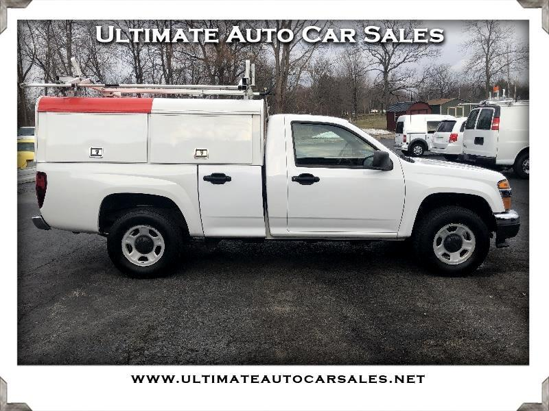 Chevrolet Colorado Work Truck 4WD 2012
