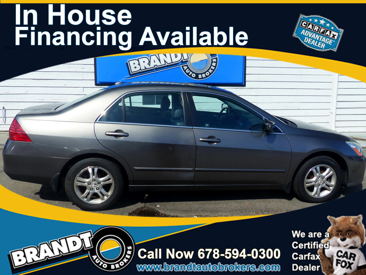 Honda Accord EX-L Sedan AT 2006