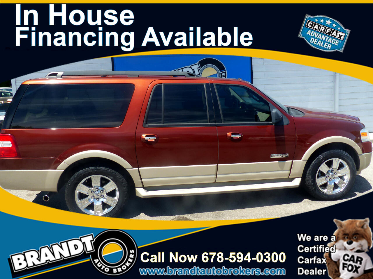 Ford Expedition EL Eddie Bauer 4WD 2007