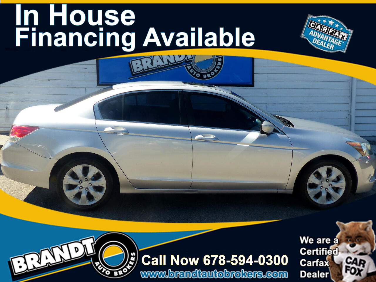 Honda Accord EX sedan 2008