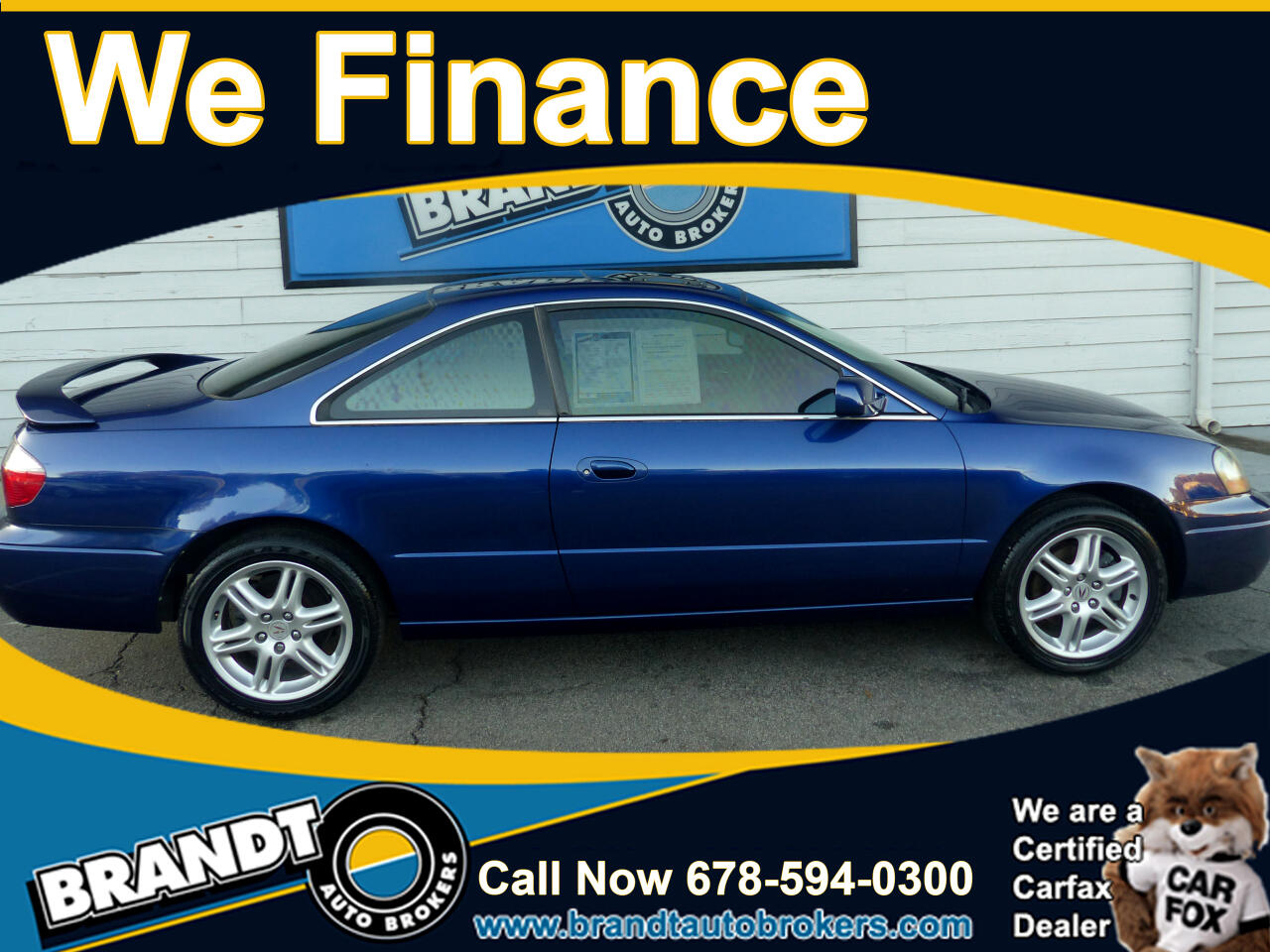 Acura CL Type-S 5-speed AT 2003